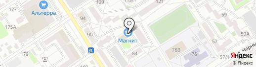 Алтайское агентство финансов и права на карте Барнаула