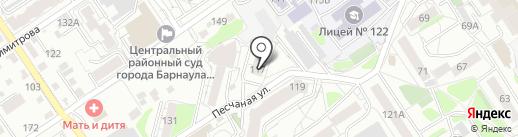 ГринЛайт Клаб на карте Барнаула