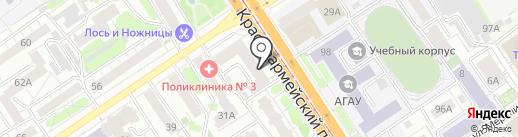 Ваше лучшее фото на карте Барнаула