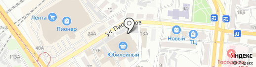 Краевой центр дезинфекции, г. Барнаул на карте Барнаула