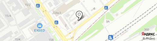 MALIBU на карте Барнаула