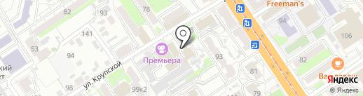 Гончарно-художественная мастерская Светланы Эбелинг на карте Барнаула