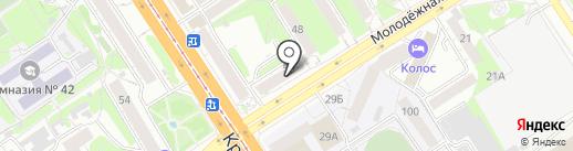 СапожОк на карте Барнаула