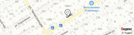 Столярка 22 на карте Барнаула