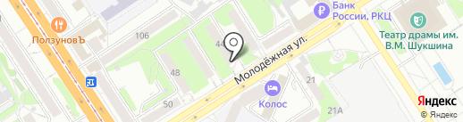 Сибирь-Мобайл на карте Барнаула