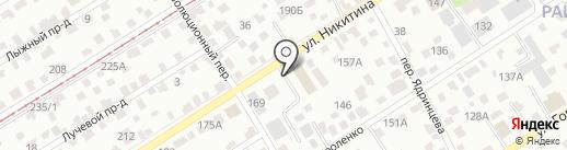 Cifra на карте Барнаула