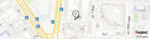 ТНТ на карте Барнаула
