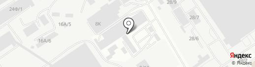 Сборы Пирогова на карте Барнаула