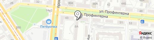 Юрфарм на карте Барнаула
