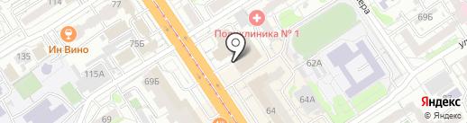 Эгоист стиль на карте Барнаула