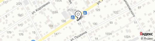 Мастерская по заточке цепей на карте Барнаула