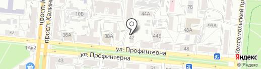 ВАРИАНТ-А на карте Барнаула