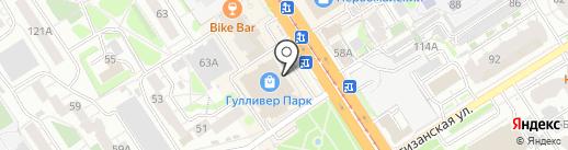 Black milk на карте Барнаула