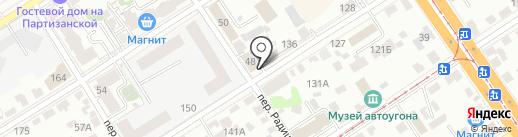 Банкомат, НБ Траст, ПАО на карте Барнаула