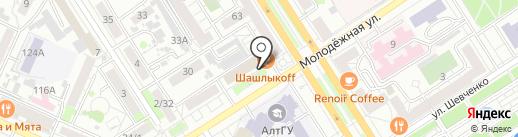 Grill Fest streetbar на карте Барнаула