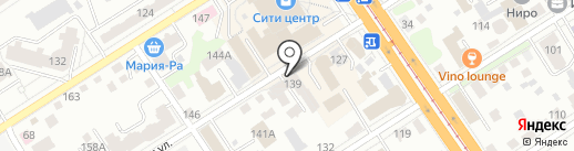 ЕК Транзит на карте Барнаула