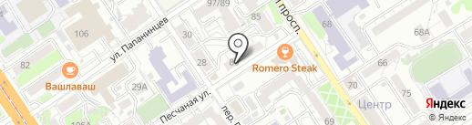 Секонд-хенд на карте Барнаула