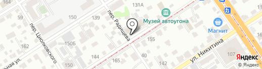 Рапир Телеком на карте Барнаула