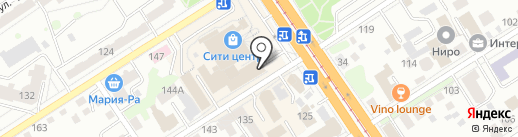 Fidel grill на карте Барнаула