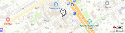 Профит на карте Барнаула