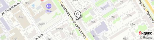 Для всех на карте Барнаула