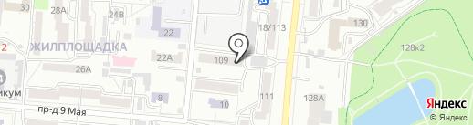 Сказка на карте Барнаула