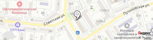 АРТЕС на карте Барнаула