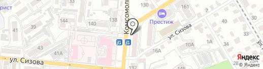 СибМедТех на карте Барнаула