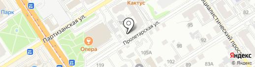 Rococo на карте Барнаула