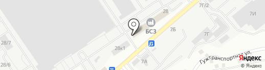 Эвотермо на карте Барнаула