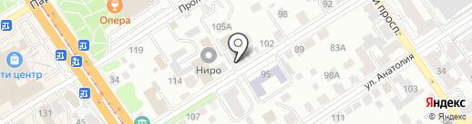 КУРЬЕР-СЕРВИС БАРНАУЛ на карте Барнаула