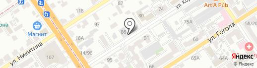 МЕХАНИКА на карте Барнаула
