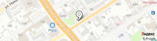 Shol` Hand made на карте Барнаула