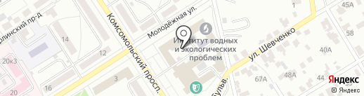 Мой погреб на карте Барнаула