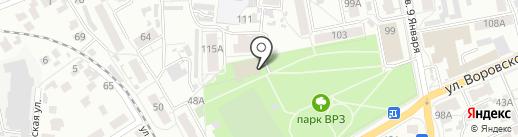 Алтайский центр самбо на карте Барнаула
