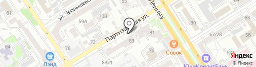 Mortar vape на карте Барнаула