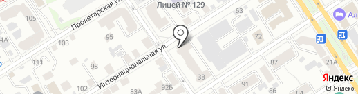 SOVA на карте Барнаула