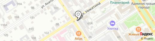 Bio Travel на карте Барнаула