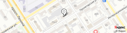 StudTime на карте Барнаула