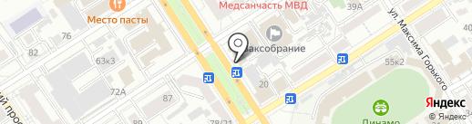 Низкие цены на карте Барнаула