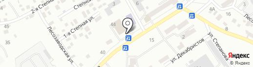 GRILL CITY на карте Барнаула