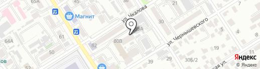 Фермер Алтая на карте Барнаула