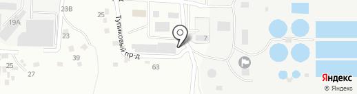 СИБИРСКОЕ КУПЕЧЕСТВО ПЛЮС на карте Барнаула
