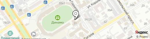 ТВ Город на карте Барнаула