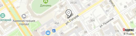 Новострой-Эксперт на карте Барнаула
