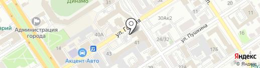 Триколор-Сибирь на карте Барнаула