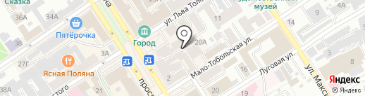 Салон штор на карте Барнаула