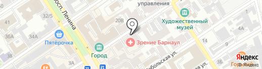 Высокие Технологии на карте Барнаула