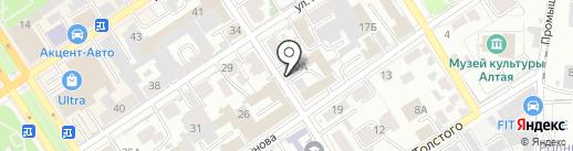 Адвокатский кабинет Павленко И.А. на карте Барнаула