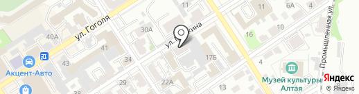 Fashion-room на карте Барнаула
